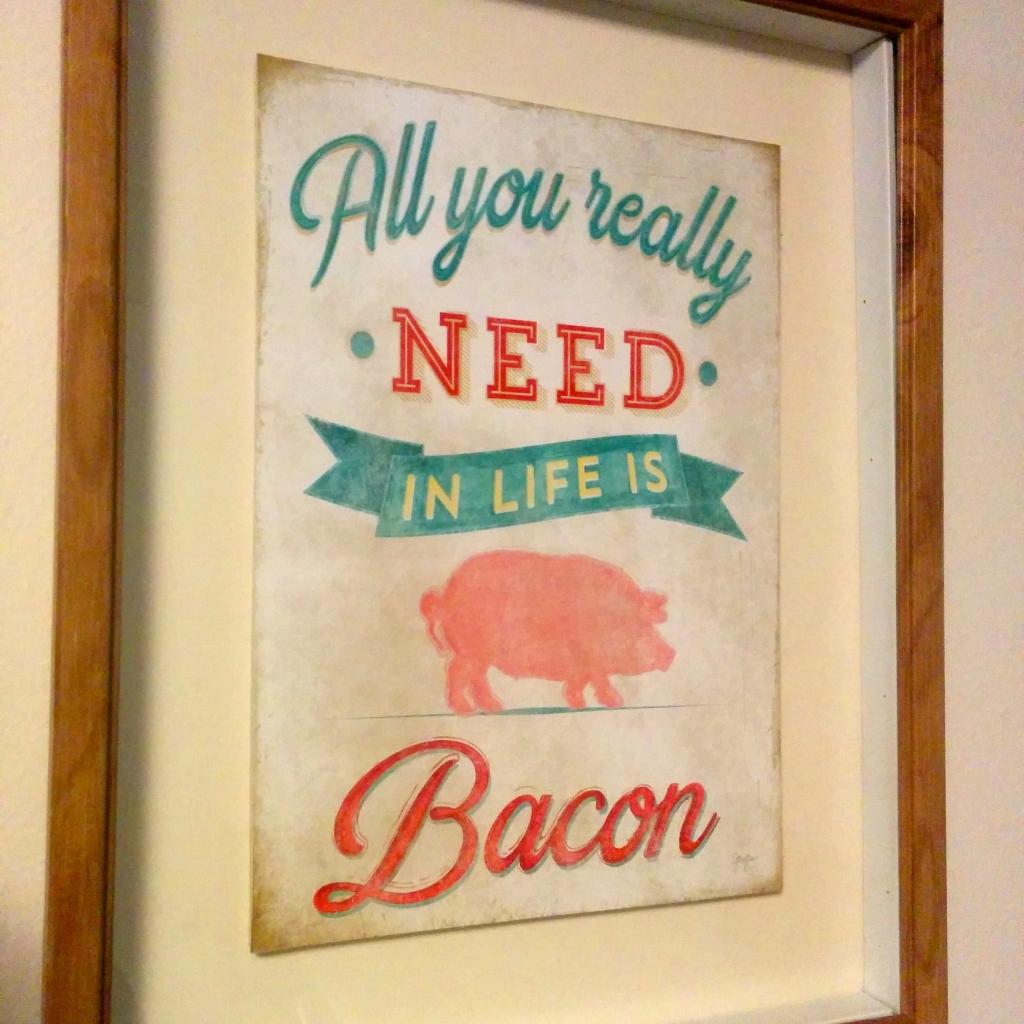 2 bacon
