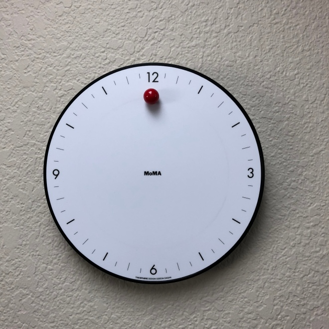 MoMa clock